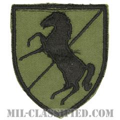 第11機甲騎兵連隊(11th Armored Cavalry Regiment)[サブデュード/カットエッジ/パッチ/1点物]の画像