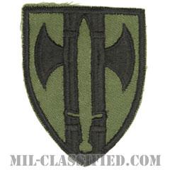 第18憲兵旅団(18th Military Police Brigade)[サブデュード/カットエッジ/パッチ/1点物]の画像