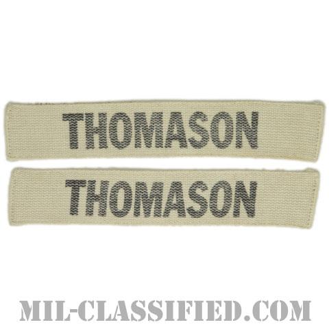 THOMASON[カラー/プリント/ネームテープ/パッチ/中古1点物(2枚セット)]の画像