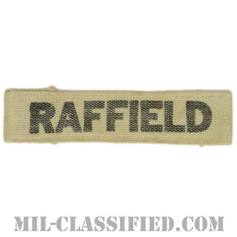 RAFFIELD[カラー/プリント/ネームテープ/パッチ/中古1点物]の画像
