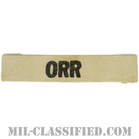 ORR[カラー/プリント/ネームテープ/パッチ/中古1点物]の画像