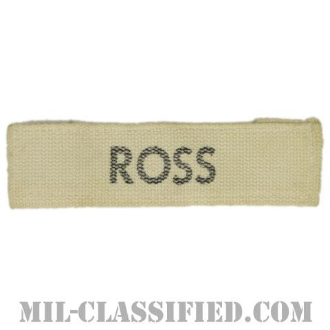 ROSS[カラー/プリント/ネームテープ/パッチ/中古1点物]の画像