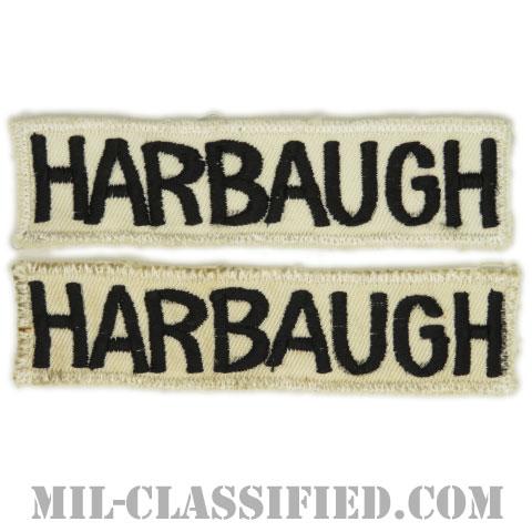HARBAUGH[カラー/刺繍/ネームテープ/パッチ/中古1点物(2枚セット)]の画像