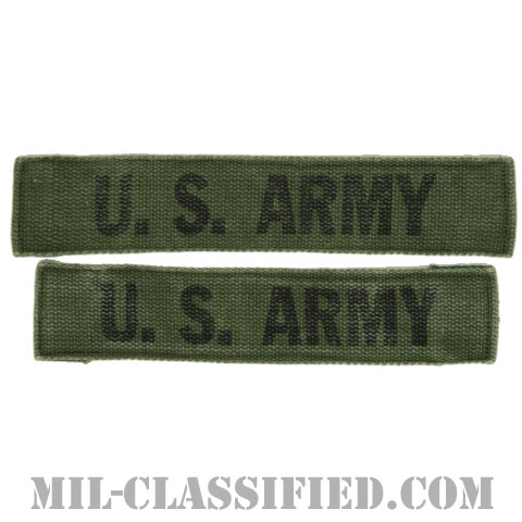 U.S.ARMY[サブデュード/プリント/ネームテープ/パッチ/中古1点物(2枚セット)]の画像