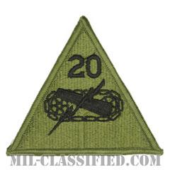 第20機甲師団(20th Armored Division)[サブデュード/メロウエッジ/パッチ]の画像