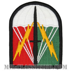 特殊作戦支援コマンド/第528維持旅団(Special Operations Support Command/528th Sustainment Brigade)[カラー/メロウエッジ/パッチ]の画像