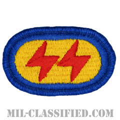第425歩兵連隊F中隊(F Company (LRS), 425th Infantry Regiment)[カラー/メロウエッジ/オーバルパッチ]の画像