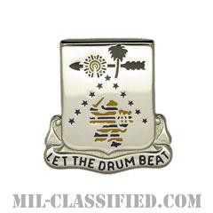 第225歩兵連隊(225th Infantry Regiment)[カラー/クレスト(Crest・DUI・DI)バッジ]の画像