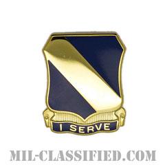 第51歩兵連隊(51st Infantry Regiment)[カラー/クレスト(Crest・DUI・DI)バッジ]の画像