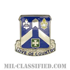 第58歩兵連隊(58th Infantry Regiment)[カラー/クレスト(Crest・DUI・DI)バッジ]の画像