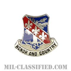 第327歩兵連隊(327th Infantry Regiment)[カラー/クレスト(Crest・DUI・DI)バッジ]の画像