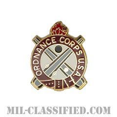 兵器連隊(Ordnance Regimental Corps)[カラー/クレスト(Crest・DUI・DI)バッジ]の画像