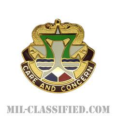フォート・フッド医療部隊(Medical Department Activity (MEDDAC) Fort Hood)[カラー/クレスト(Crest・DUI・DI)バッジ]の画像