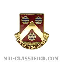 第498支援大隊(498th Support Battalion)[カラー/クレスト(Crest・DUI・DI)バッジ]の画像