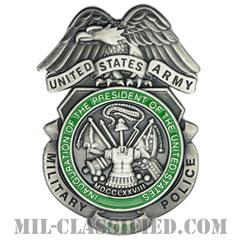 憲兵章 (2005年就任式用)(Military Police Badge, Inauguration 2005)[カラー/燻し銀/バッジ]の画像