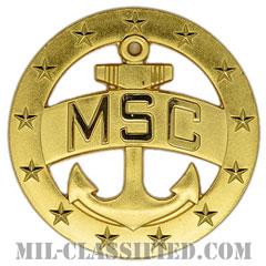 軍事海上輸送司令部(Military Sealift Command)[カラー/バッジ]の画像