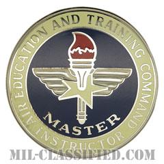 航空教育・訓練軍団章 (マスター・インストラクター)(Air Education and Training Command, Master Instructor)[カラー/バッジ]の画像