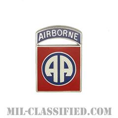 第82空挺師団(82nd Airborne Division)[カラー/クレスト(Crest・DUI・DI)バッジ]の画像