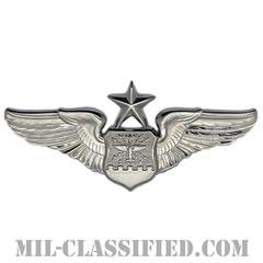 航空士章 (ナビゲーター・シニア)(Navigator/Observer Badge, Senior)[カラー/鏡面仕上げ/バッジ]の画像