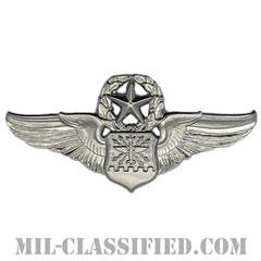航空士章 (ナビゲーター・マスター)(Navigator/Observer Badge, Master)[カラー/鏡面仕上げ/バッジ]の画像