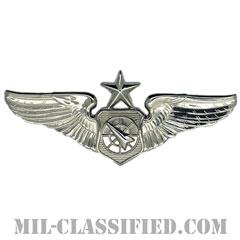 空中戦闘管制章 (シニア)(Air Battle Manager Badge, Senior)[カラー/鏡面仕上げ/バッジ]の画像