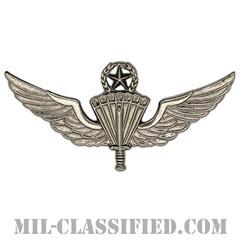 自由降下章(マスター)試作品(Military Freefall Parachutist Badge, HALO, Jumpmaster, Prototype)[カラー/1980s/バッジ/レプリカ]の画像