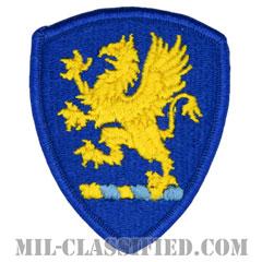 ミシガン州 州兵(National Guard, Michigan)[カラー/メロウエッジ/パッチ]の画像