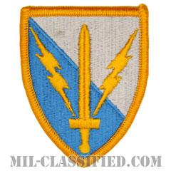 第201遠征軍事情報旅団(201st Expeditionary Military Intelligence Brigade)[カラー/メロウエッジ/パッチ]の画像