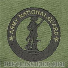 州兵募兵維持章(Army National Guard Recruiting and Retention Badge)[サブデュード/パッチ]の画像