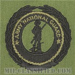 州兵募兵維持章 (マスター)(Army National Guard Recruiting and Retention Badge, Master)[サブデュード/パッチ]の画像
