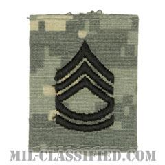一等軍曹(Sergeant First Class (SFC))[UCP(ACU)/ゴアテックスパーカー用スライドオン階級章]の画像