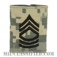 曹長(Master Sergeant (MSG))[UCP(ACU)/ゴアテックスパーカー用スライドオン階級章]の画像