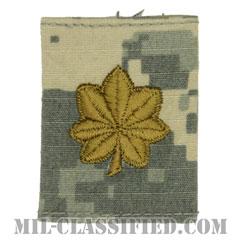 少佐(Major (MAJ))[UCP(ACU)/ゴアテックスパーカー用スライドオン階級章]の画像