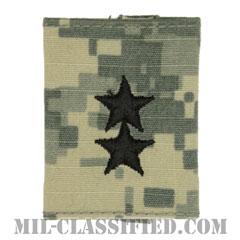 少将(Major General (MG))[UCP(ACU)/ゴアテックスパーカー用スライドオン階級章]の画像