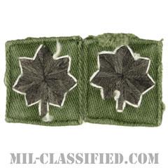 中佐(Lieutenant Colonel (LTC))[サブデュード/ローカルメイド/階級章/パッチ/ペア(2枚1組)/中古1点物]の画像