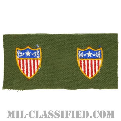 総務科章(Adjutant General's Corps)[カラー/兵科章/パッチ/ペア(2枚1組)]の画像