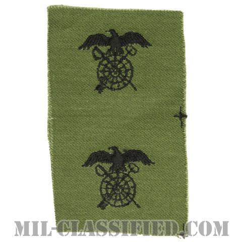 需品科章(Quartermaster Corps)[サブデュード/1960s/コットン100%/パッチ/ペア(2枚1組)]の画像