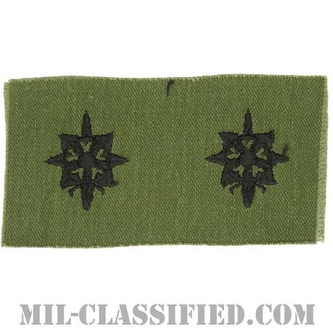 情報科章(Military Intelligence Corps)[サブデュード/1960s/コットン100%/パッチ/ペア(2枚1組)]の画像