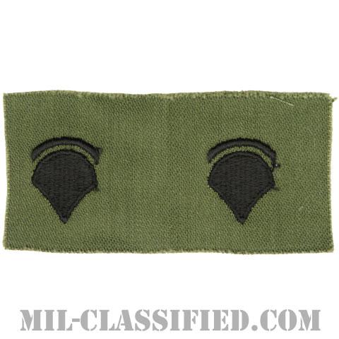特技兵 (SP5)(Specialist 5)[サブデュード/1960s/コットン100%/パッチ/ペア(2枚1組)]の画像