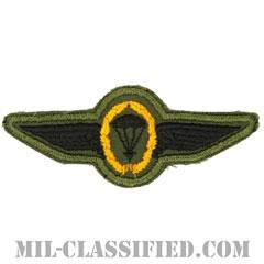 ドイツ軍空挺章 (米兵用)(Germany Parachutist Badge)[サブデュード/カットエッジ/パッチ]の画像