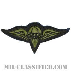 パラシュート整備士 (パラシュートリガー)(Parachute Rigger Badge)[サブデュード/カットエッジ/パッチ]の画像
