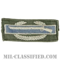 戦闘歩兵章 (ファースト)(Combat Infantryman Badge (CIB), First Award)[カラー/パッチ/中古1点物]の画像