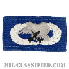整備・弾薬章(Maintenance and Munitions Badge, Badge)[カラー/空軍ブルー生地/パッチ/中古1点物]の画像