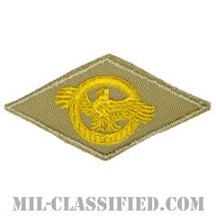 名誉除隊章 (ラプチャードダック)(WWII Honorable Discharge/Ruptured Duck)[カラー/カーキ刺繍/パッチ]の画像