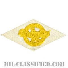 名誉除隊章 (ラプチャードダック)(WWII Honorable Discharge/Ruptured Duck)[カラー/ホワイト刺繍/パッチ]の画像