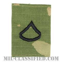 上等兵(Private First Class (PFC))[OCP/ゴアテックスパーカー用スライドオン階級章]の画像