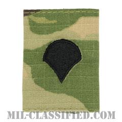 特技兵(Specialist (SPC))[OCP/ゴアテックスパーカー用スライドオン階級章]の画像