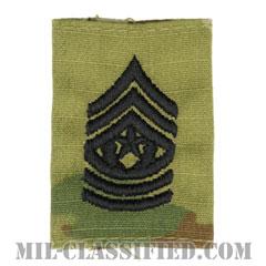 最上級曹長(Command Sergeant Major (CSM))[OCP/ゴアテックスパーカー用スライドオン階級章]の画像