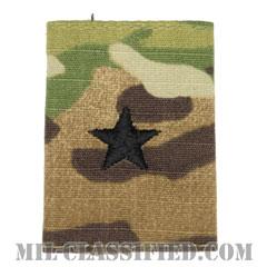 准将(Brigadier General (BG))[OCP/ゴアテックスパーカー用スライドオン階級章]の画像