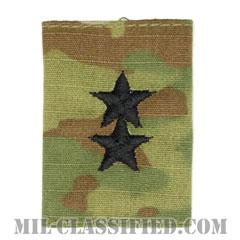 少将(Major General (MG))[OCP/ゴアテックスパーカー用スライドオン階級章]の画像